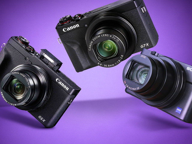 Is it worth buying the new Canon PowerShot or Sony Cyber-shot cameras?