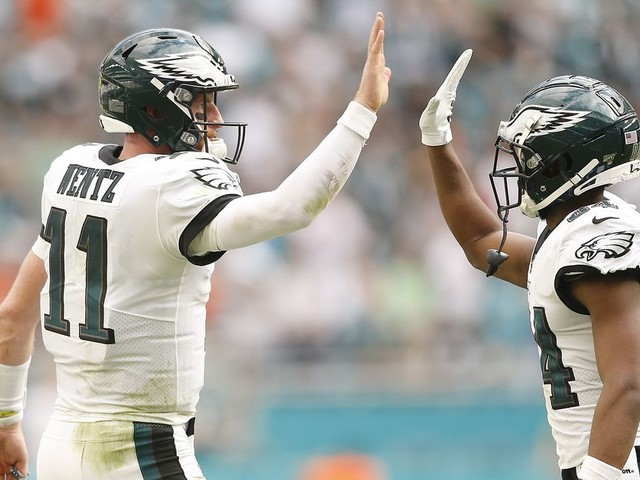 How Carson Wentz and an injured-depleted roster are powering the Eagles