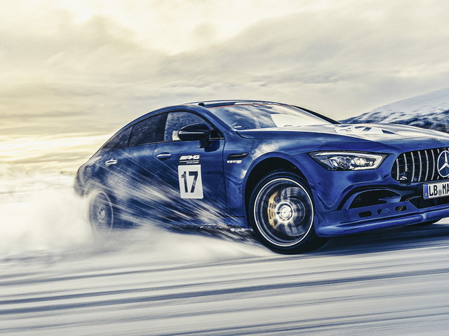 Mercedes-AMG's Hybrid System Recharges Its Batteries While You Drift