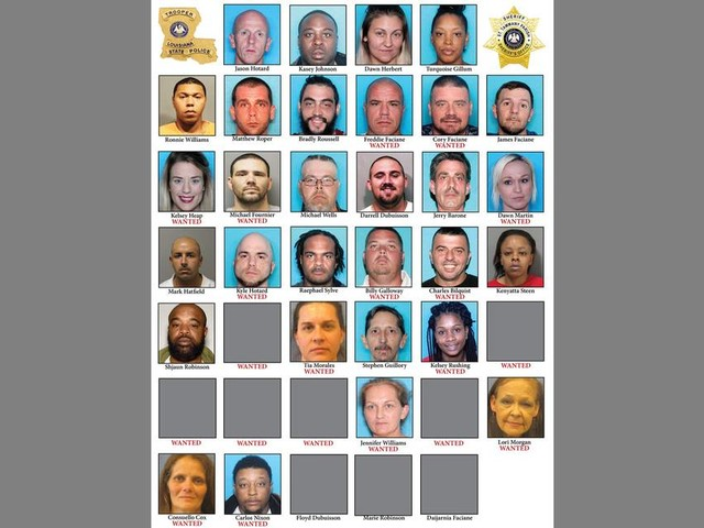 19 arrested, 20 wanted in heroin trafficking scheme in Slidell, South Mississippi