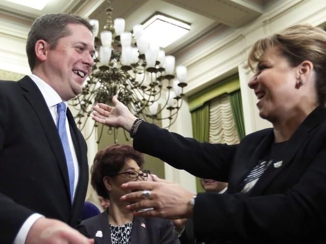 Andrew Scheer Basks In Hero's Welcome, Calls On Tories To Unite