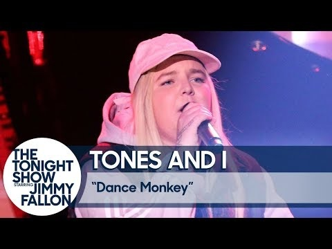 "Tones And I Brings ""Dance Monkey"" To 'Jimmy Fallon'"