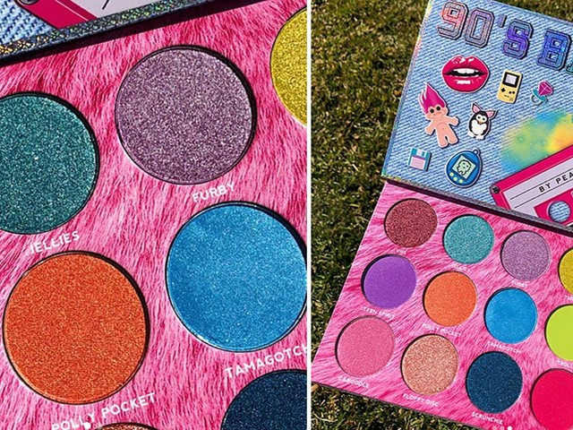 Where To Buy Peachy Queen's 90's Baby Eyeshadow Palette For The Ultimate Throwback