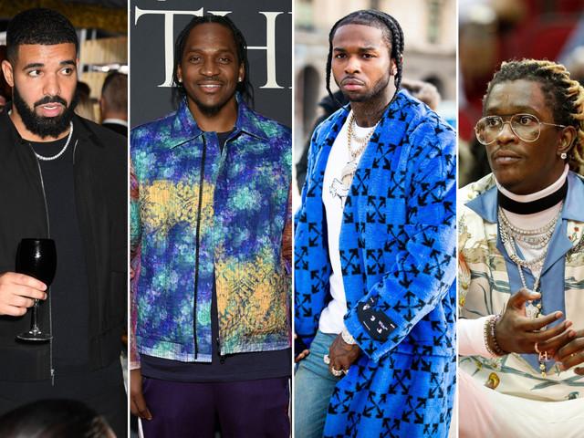 Pusha T, Young Thug beef over Drake diss on Pop Smoke's posthumous album