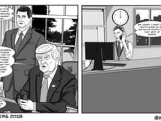 Trump's Fiery Vengeance