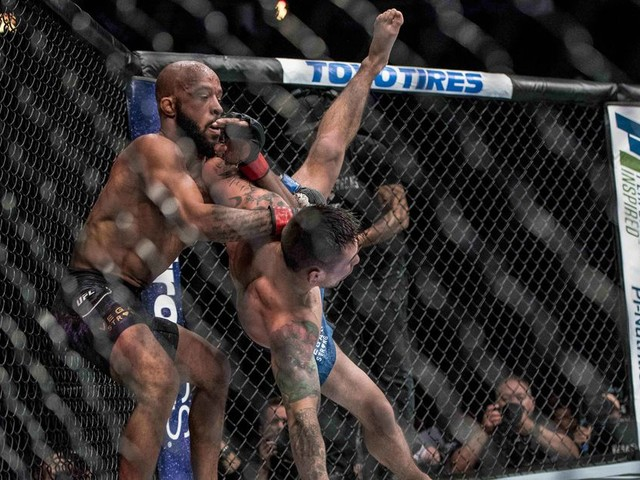 UFC 216: Starring Demetrious Johnson's armbar - Post fight analysis in six easy tweets