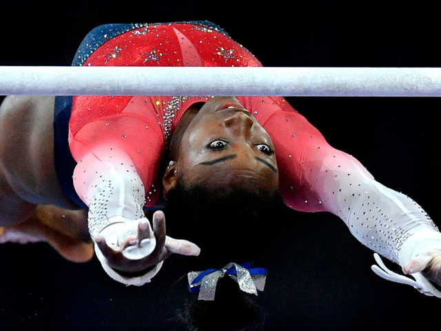Simone Biles has most gymnastic medals ever for a woman