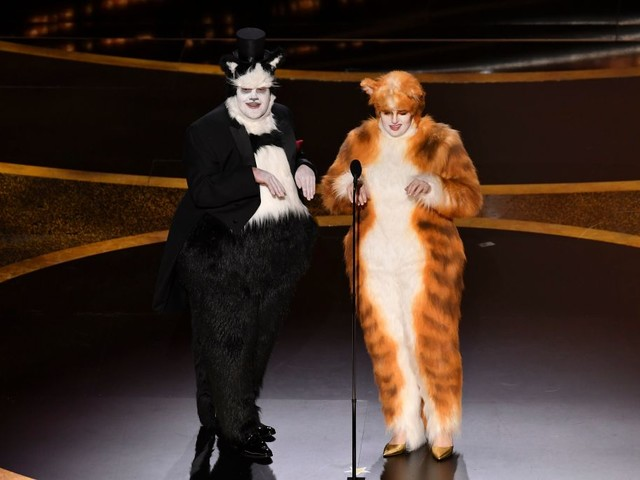 Oscars: Visual Effects Society Picks A 'Cats'-Fight Over James Corden & Rebel Wilson's VFX Insult