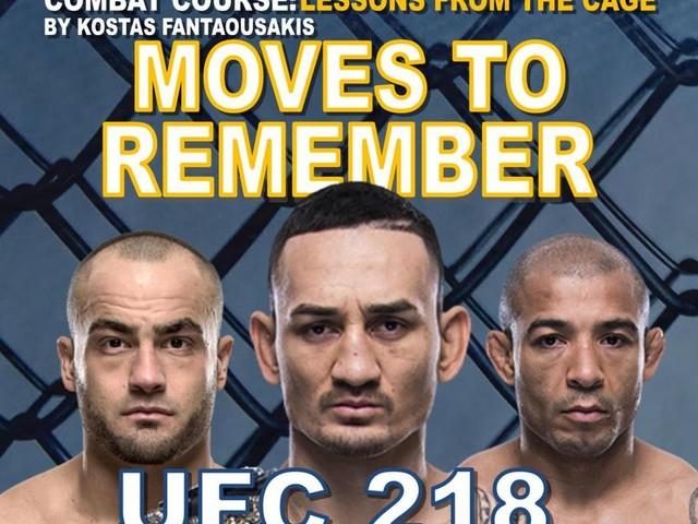 UFC 218: Holloway vs. Aldo 2 technical recap - Moves to Remember