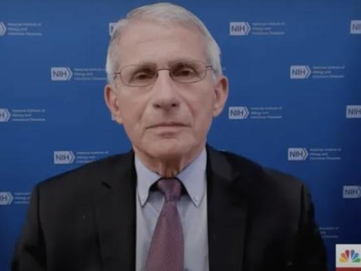 MSNBC Holds Fauci's Hand Through First Damage Control Interview Since 'Email-Gate'