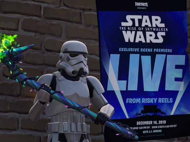 Fortnite's Risky Reels theater will show 'Rise of Skywalker' scene