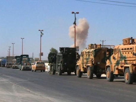 Turkey-Syria War On The Horizon: Airstrikes Target Invading Turkish Army Convoy