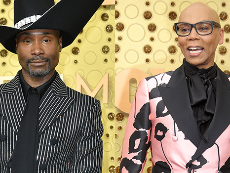 Billy Porter Denies Giving RuPaul Side-Eye At The Emmys During 'Drag Race' Acceptance Speech