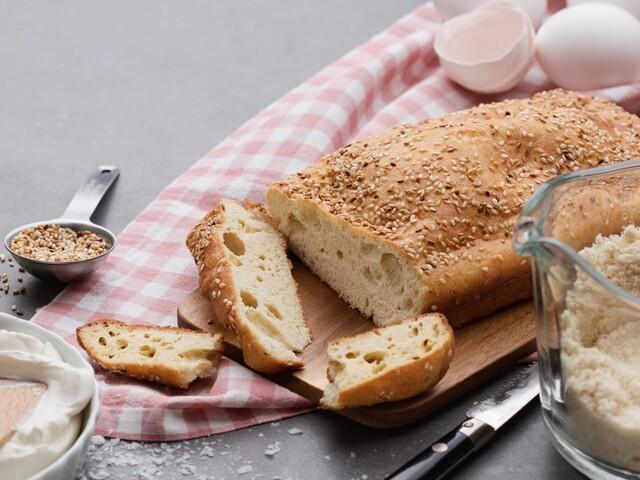 Cooking video: Keto sesame bread