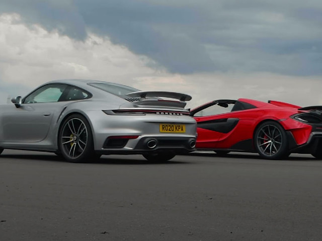 Does The McLaren 600LT Stand A Chance Against The Porsche 911 Turbo S?