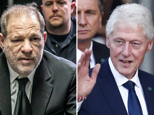 Harvey Weinstein's Lawyer Seeks Mistrial When D.A. Refers to Bill Clinton Friendship