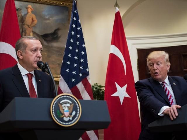 Trump tells Turkish president U.S. will stop arming Kurds in Syria