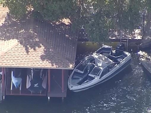 Body of man, 36, discovered after girl, 3, found alone on a boat on a Texas lake