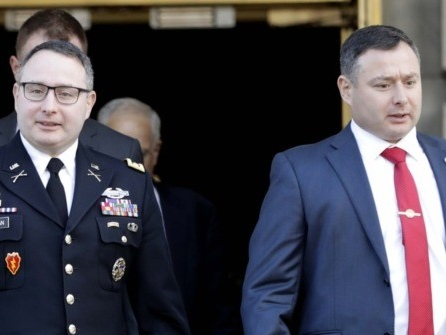 Source: Alexander Vindman's Brother, Yevgeny, Clears Publications by NSC Officials