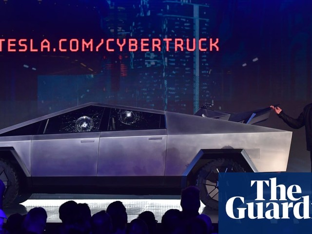 Cybertruck: Tesla unveils new pickup truck but windows shatter during demo