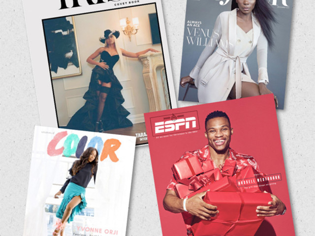 COVER KILLERS: Russell Westbrook, Taraji P. Henson, Venus Williams & Yvonne Orji Serve Up Black Excellence This Holiday Season