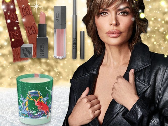 Lisa Rinna's Holiday Gift Guide Brings Beverly Hills to Your Home