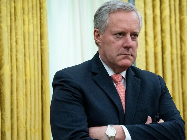 White House chief of staff Mark Meadows told staffers he fed information to suspected leakers to see if they'd tell the media, according to report