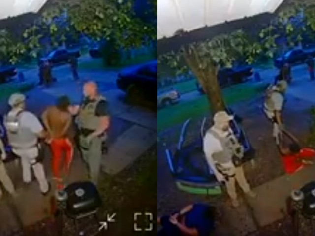 U.S. Marshal caught on video striking handcuffed Black man in the face