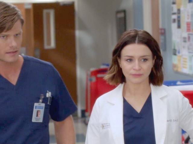 'Grey's Anatomy' Sneak Peek: Amelia and Link Toy With Coming Clean About Their Pregnancy Secret (Exclusive)