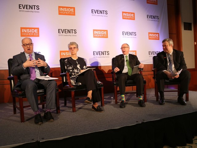 Conference shows higher education's many tensions and challenges