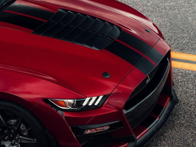 Ford Charges An Absurd $10,000 For Painted Stripes On Shelby Mustang GT500