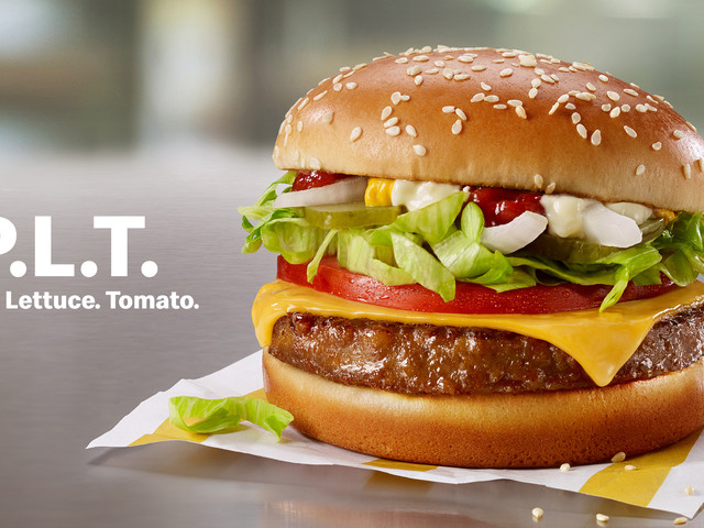 Meat-free McDonald's burgers started rolling out today