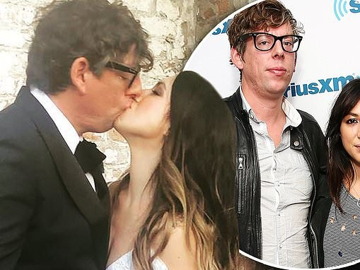 Michelle Branch marries The Black Keys' Patrick Carney at the Marigny Opera House in New Orleans