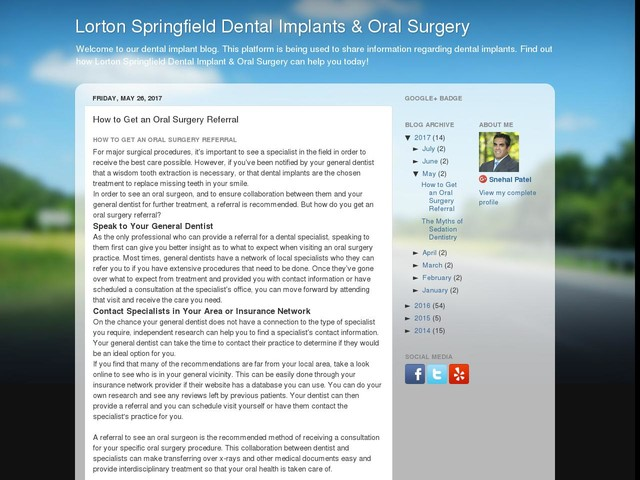 How to Get an Oral Surgery Referral