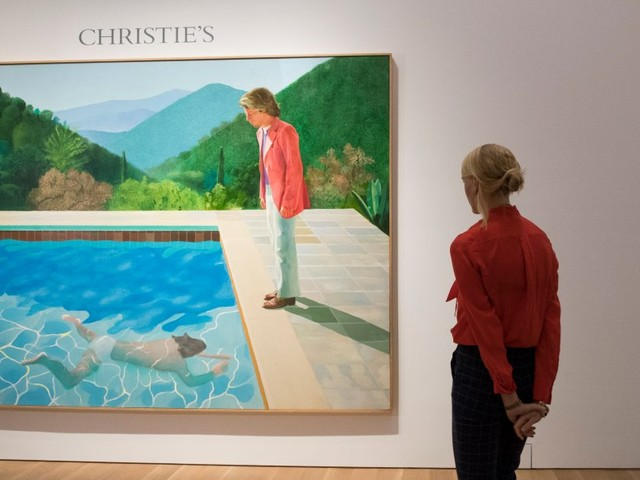 The world has a new most expensive living artist after Christie's sale estimate is smashed