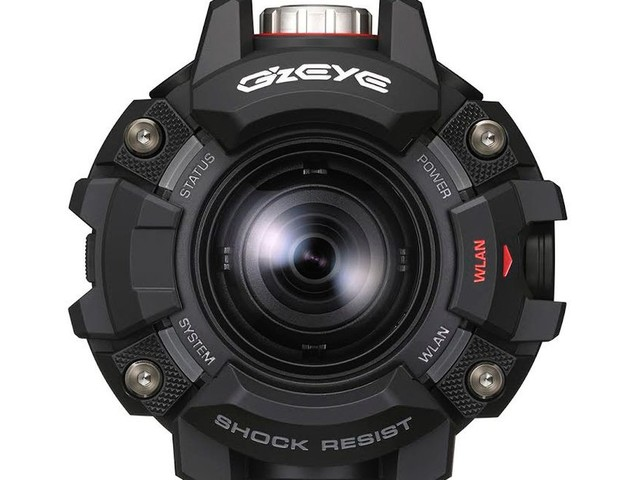 Casio's rugged action camera looks like a G-Shock with a lens
