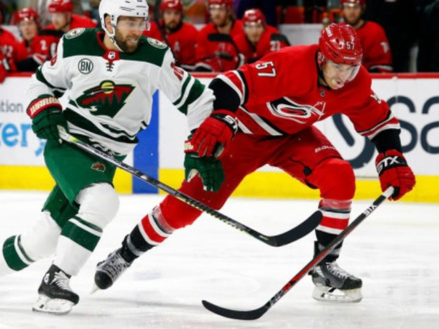 Wild sticking with same group to close out road trip vs. Hurricanes