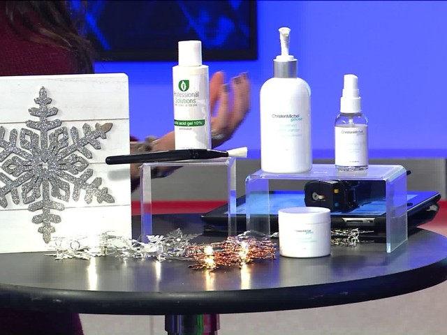Winter skin care tips with Christen Michel