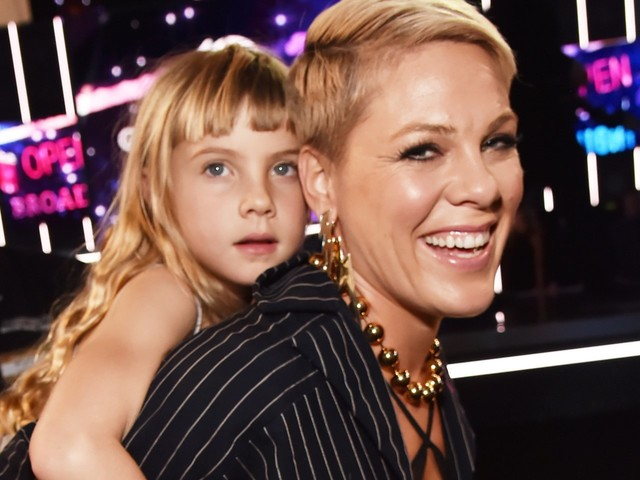Pink's kids gave her a homemade Grammy after the singer lost at the 2019 awards show