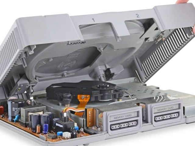 Remember how simple consoles used to be with this original PlayStation teardown