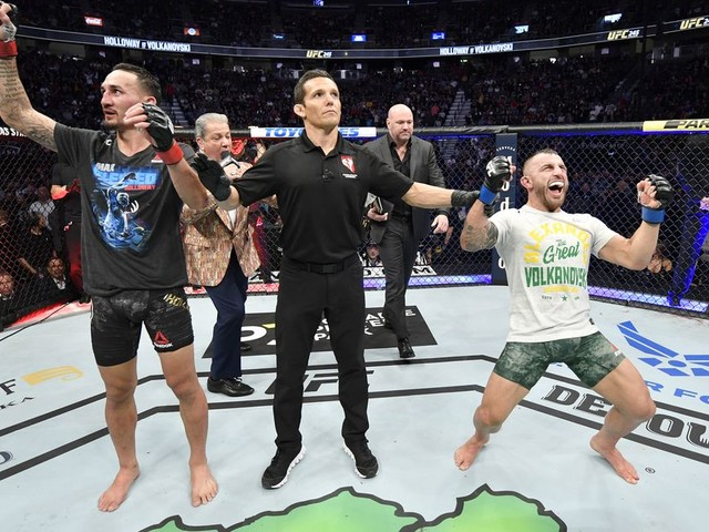 'I didn't ask for the rematch' - Holloway says it was Volkanovski's idea
