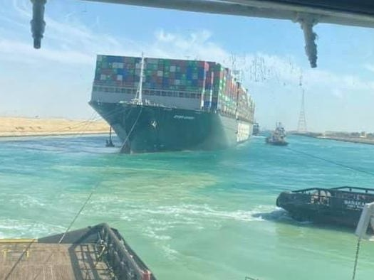 "Megaship Blocking Suez Canal Has Been ""Freed"""