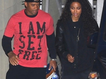 WALKING IN FAITH: Ciara & Russell Wilson Show Us What A Church Going Couple Looks Like