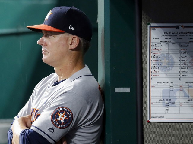 A.J. Hinch and Jeff Luhnow fired by Astros after MLB suspension, fine in sign-stealing scandal