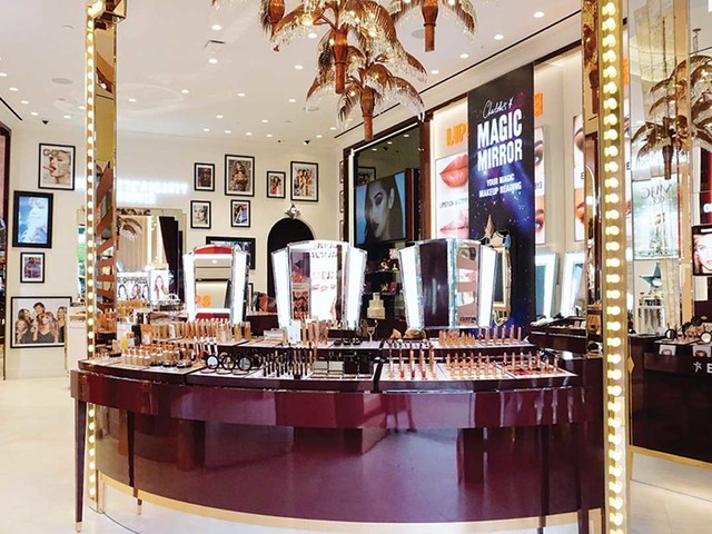 Visit Charlotte Tilbury's Beauty Wonderland
