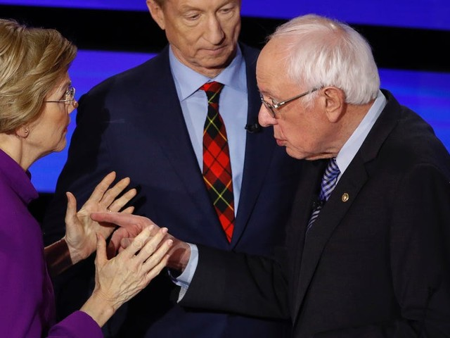 New audio shows that Elizabeth Warren accused Bernie Sanders of 'calling her a liar on national TV' in a heated post-debate encounter