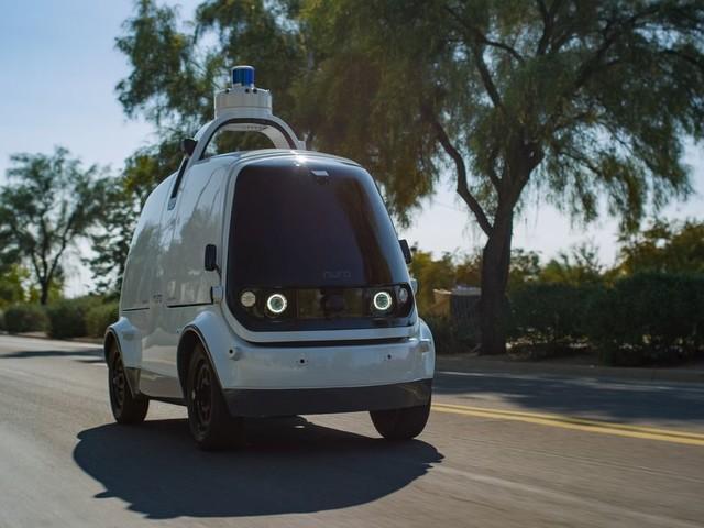 Robot delivery startup Nuro raises nearly $1 billion from SoftBank