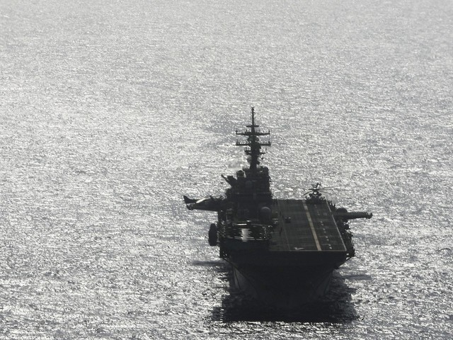 Iran denied Trump's assertion that a US warship shot down one of its drones and said it was 'worried' the US actually destroyed its own aircraft