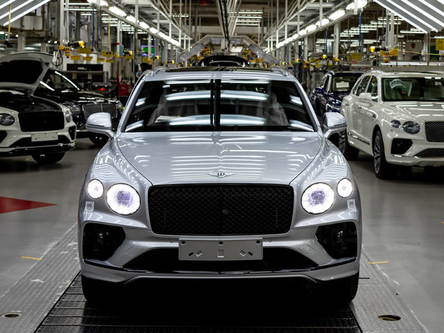 Bentley Posts Record Quarter Sales Proving That The Rich Still Need New Toys