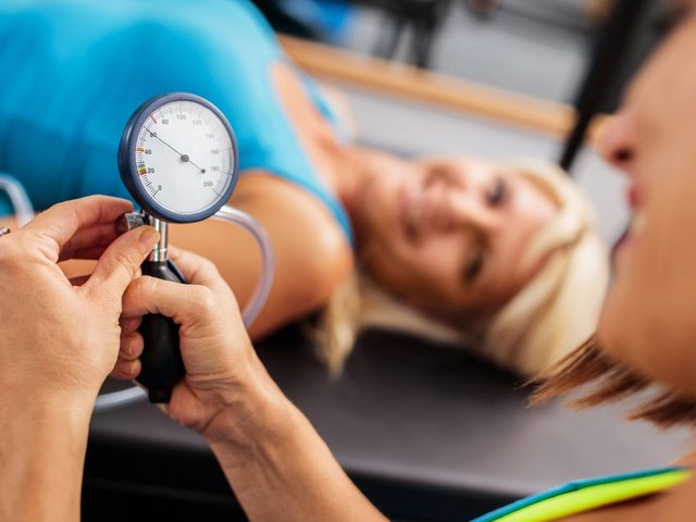 Should you exercise if you have high blood pressure?